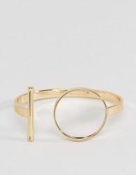 Fiorelli Circle Cuff - Gold