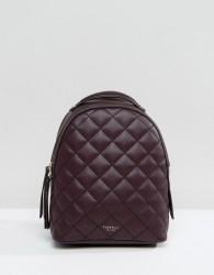 Fiorelli Mini Anouk Quilted Backpack in Aubergine - Purple