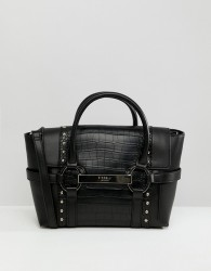 Fiorelli small flapover tote bag - Black