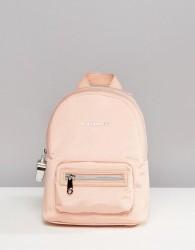Fiorelli Sport Strike Mini Nylon Backpack in Blush - Pink