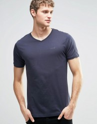 Firetrap V Neck T-Shirt - Navy