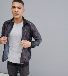 FIRST Running Jacket In Black - Black
