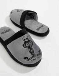 Fizz Harry Potter dark mark slippers - Grey