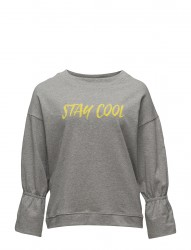 Flecked Message Sweatshirt