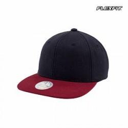 Flexfit Snapback-cap i tofarvet design
