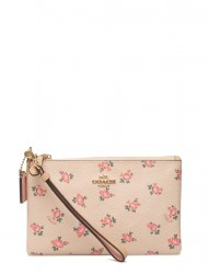 Floral Bloom Small Wristlet