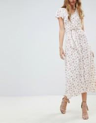 Flynn Skye Ditsy Print Midi Skirt Co-Ord - White