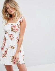 Flynn Skye Maria Mini Floral Dress - Multi