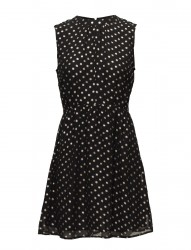Foil Dotted Dress