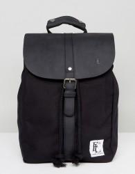 Forbes & Lewis Leather Littlehampton Backpack in Black - Black