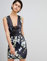 Forever Unique Printed Dress - Multi