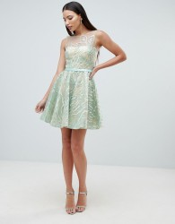Forever Unique Prom Dress - Green