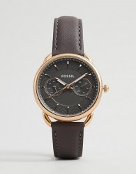 Fossil ES3913 Women's Tailor Leather Watch - Grey