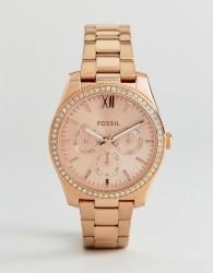 Fossil ES4315 Scarlette Mini Bracelet Watch In Rose Gold - Gold