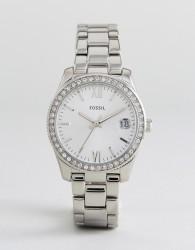 Fossil ES4317 Scarlette Mini Bracelet Watch In Silver - Silver