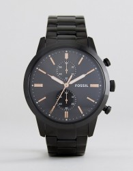 Fossil FS5379 Rutherford Bracelet Watch In Black - Black