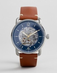 Fossil ME3159 Commutor Automatic Leather Watch 42mm - Tan