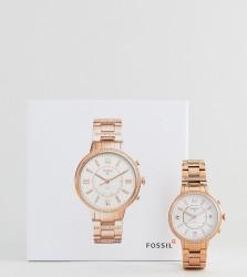 Fossil Q FTW5010 Virginia Bracelet Hybrid Smart Watch In Rose Gold 36mm - Gold