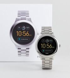 Fossil Q FTW6003 Venture Bracelet Smart Watch In Silver - Silver