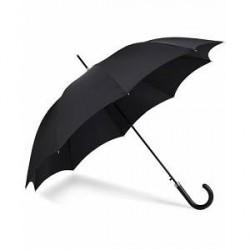 Fox Umbrellas Hardwood Automatic Umbrella Black