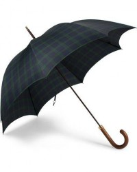 Fox Umbrellas Hardwood Umbrella Blackwatch Tartan men One size Blå,Grøn