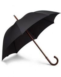 Fox Umbrellas Polished Cherrywood Solid Umbrella Black men One size Sort