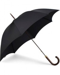 Fox Umbrellas Polished Hardwood Umbrella Black men One size Sort