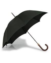 Fox Umbrellas Polished Hardwood Umbrella Racing Green men One size Grøn
