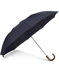 Fox Umbrellas Telescopic Umbrella Navy men One size Blå