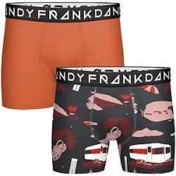 Frank Dandy 2-pak Boda Boxer - Pattern-2 - X-Large