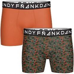 Frank Dandy 2-pak Fiori Boxer - Pattern-2 - Large