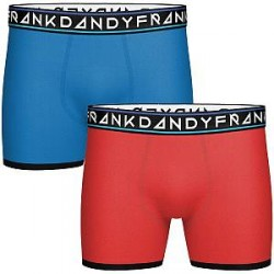 Frank Dandy 2-pak St Paul Bamboo Boxer - Mixed - Small