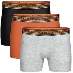 Frank Dandy 3-pak Solid Contast Boxer - Mixed * Kampagne *