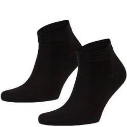 Frank Dandy Bamboo Ankle Socks - Black - Str 36/40