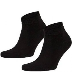 Frank Dandy Bamboo Ankle Socks - Black - Str 41/46