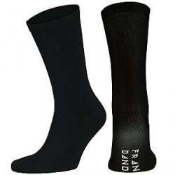 Frank Dandy Bamboo Socks Solid - Black - Str 41/46