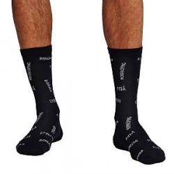 Frank Dandy Bamboo Swewaii Socks - Navy pattern - Str 36/40