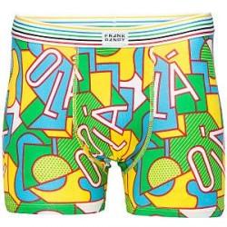 Frank Dandy Ola Boxer - Green Pattern - Medium