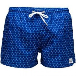 Frank Dandy Sail Ninja Dart Swimshorts - Blue Pattern - X-Large * Kampagne *