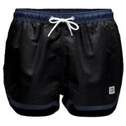 Frank Dandy Saint Paul Swim Shorts - Black/Blue - Large * Kampagne *