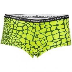 Frank Dandy Womens Boxer Crocodile - Green Pattern * Kampagne *
