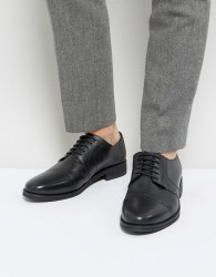 Frank Wright Brogues In Black Leather - Black