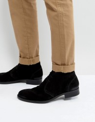 Frank Wright Desert Boots - Black