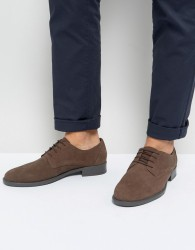 Frank Wright Lace Up In Brown Waxed - Brown