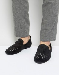 Frank Wright Loafers With Studded Toe - Blue