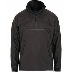 Fred Perry Half Zip Hooded Jacket Black