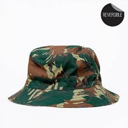 Fred Perry Hat - Camo Ripstop Reversible Fisherman
