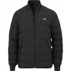 Fred Perry Insulated Bomber Jacket Black