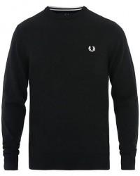 Fred Perry Merino Wool Crew Neck Pullover Black men L