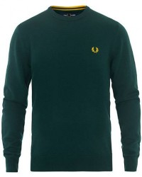 Fred Perry Merino Wool Crew Neck Pullover Evergreen men XL